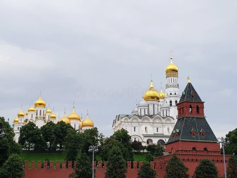 Kremlkyrkor arkivfoto