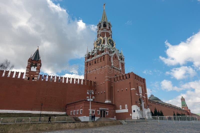 Kremlowski plac czerwony, Moskwa, Rosja obraz stock