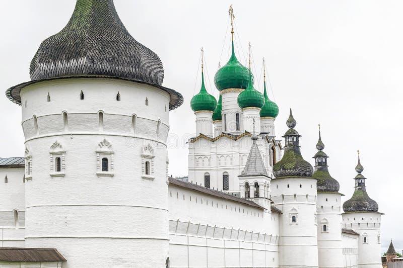 Kremlowski Rostov Wielki złocisty pierścionek Russia zdjęcie royalty free