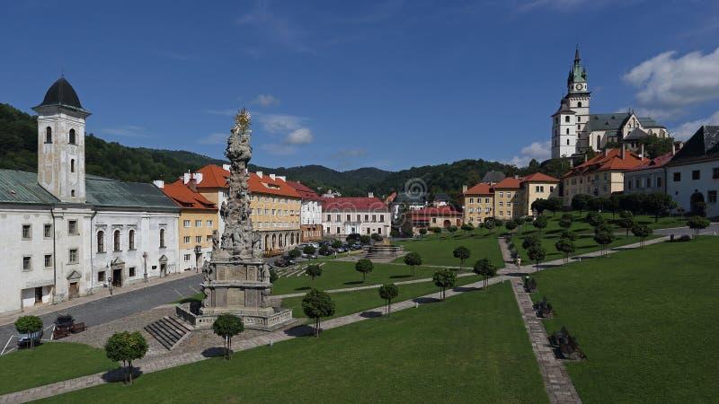 Kremnica, Slovacchia fotografia stock libera da diritti