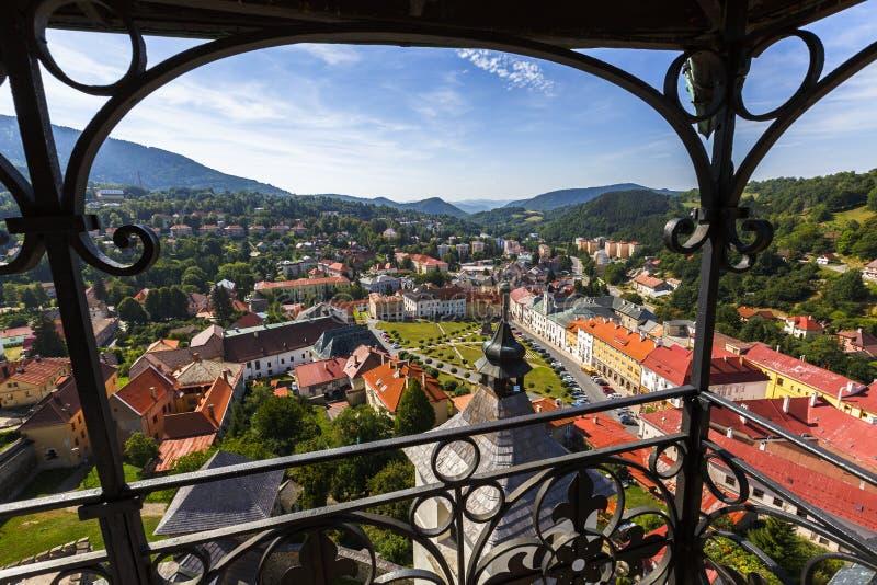 Kremnica, Slowakije royalty-vrije stock afbeelding
