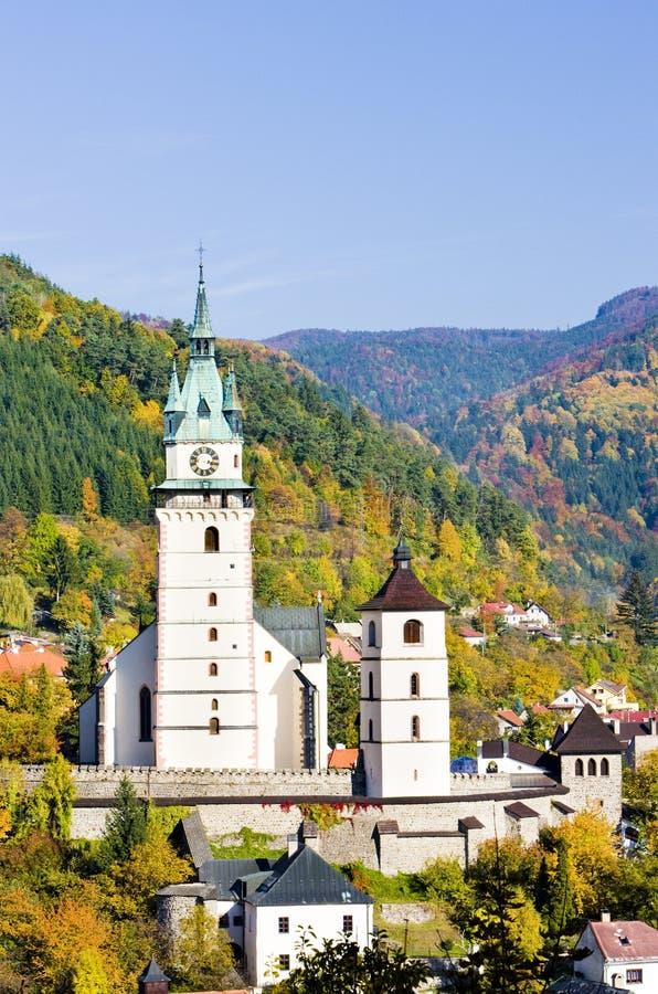 Kremnice, Slovaquie image libre de droits