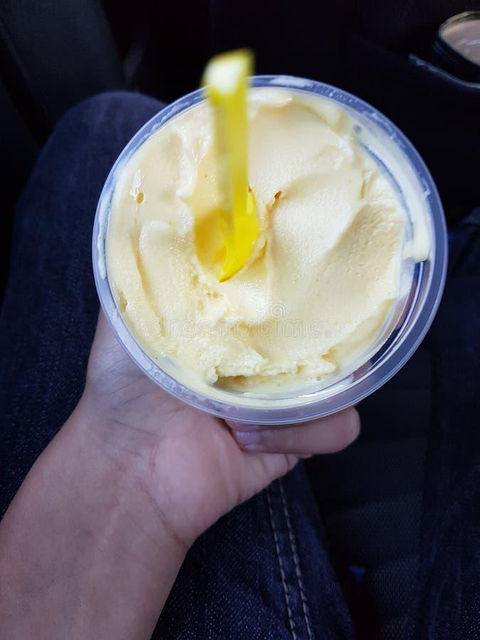 kremy szyszek tła czekoladowe lody lodu nad pistacjowym waniliowym truskawkowy white obrazy royalty free