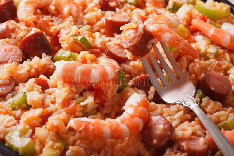 Merveilleux Download Kreolische Küche: Jambalayamakro Horizontales Background Stockfoto    Bild Von Pilaf, Mahlzeit: 59094354