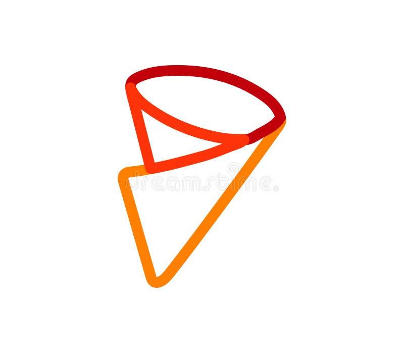 Krepp-Ikonen-Design vektor abbildung