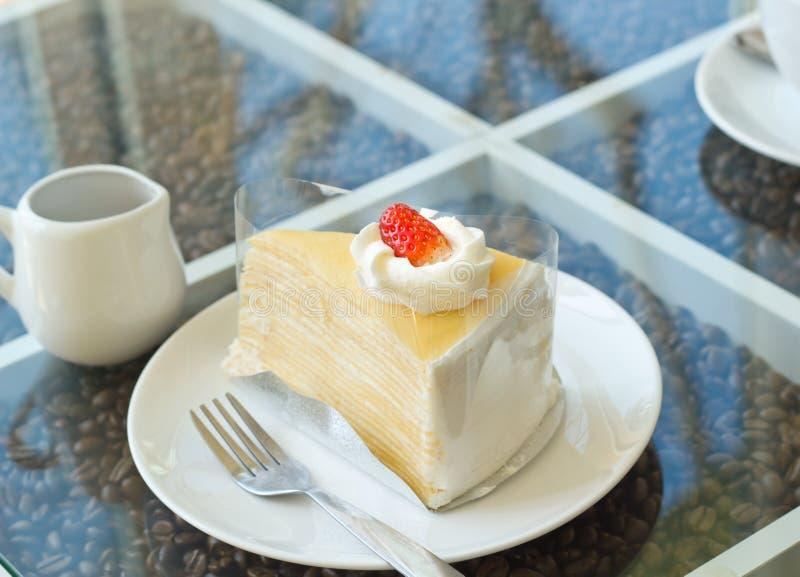 Krepp-Kuchen lizenzfreies stockbild