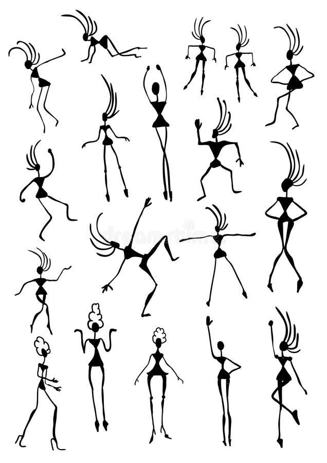 Kreskówek postacie ilustracji