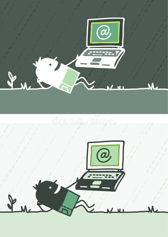 kreskówka barwiący bezpłatni internety ilustracji