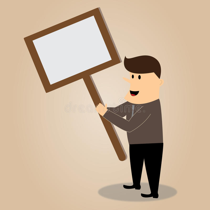 Kreskówka biznesmen ilustracji