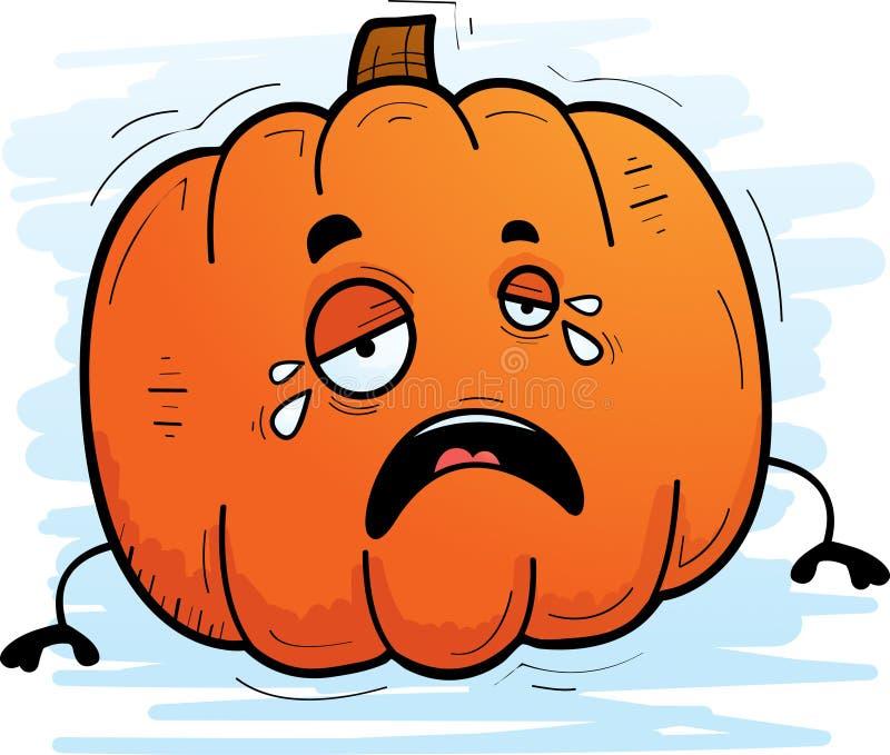 Kreskówka Dyniowy płacz ilustracji