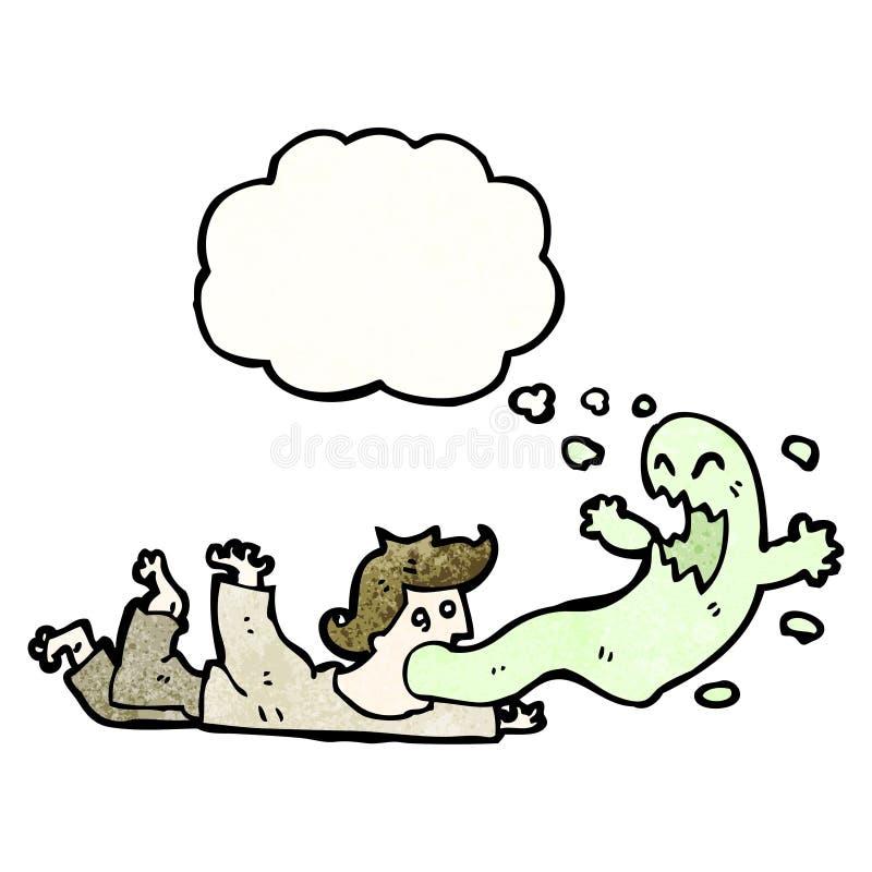 kreskówka egzorcyzm ilustracji