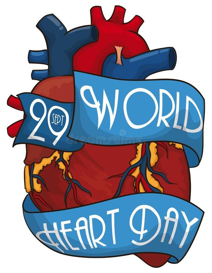 Kreskówka Kierowy projekt z faborkami Upamiętniać Światowego Kierowego dzień, Wektorowa ilustracja ilustracja wektor