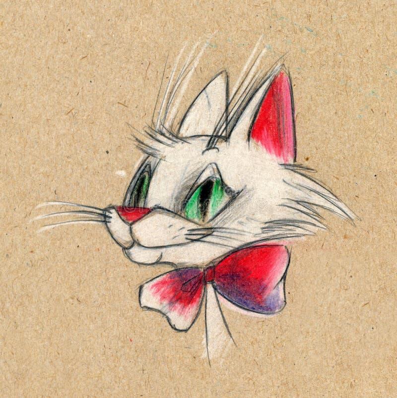 kreskówka kot ilustracji