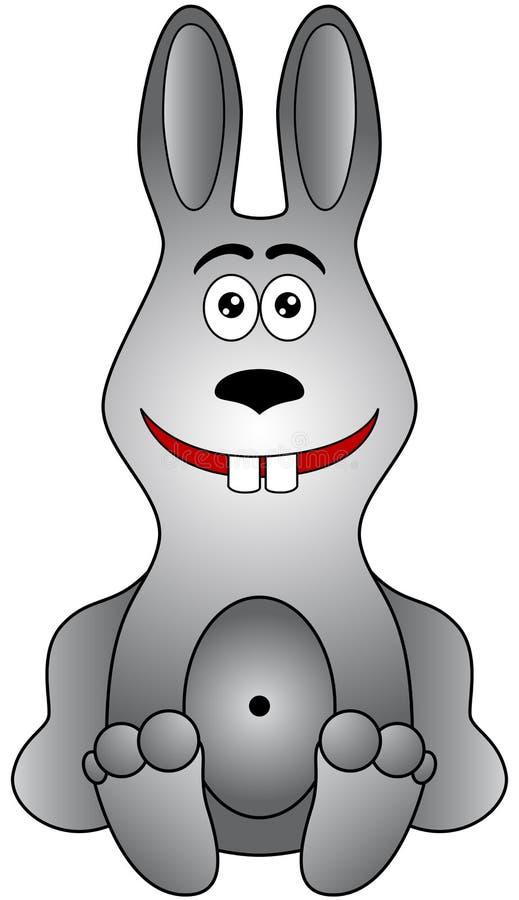 kreskówka królik royalty ilustracja