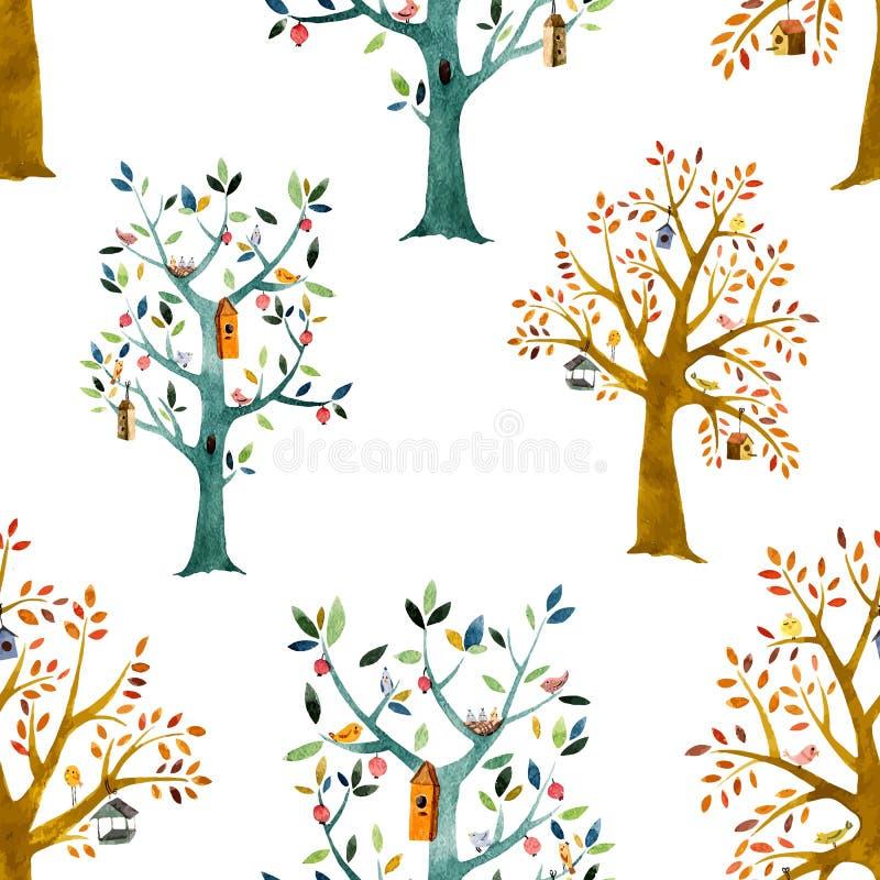 Kreskówka las ilustracja wektor