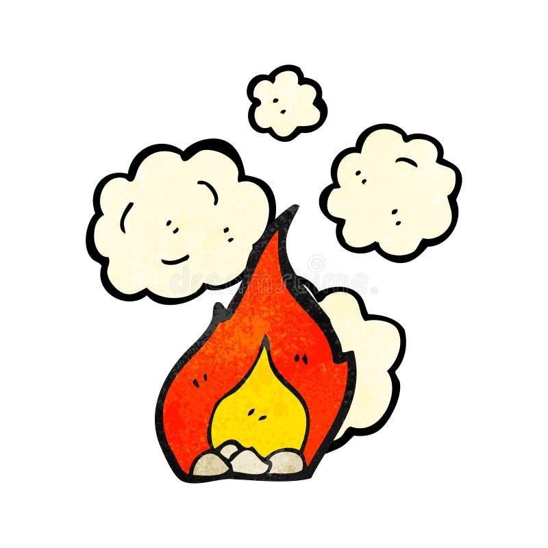 kreskówka ogień ilustracji