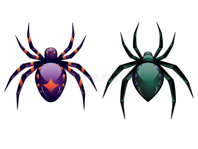 Kreskówka pająk royalty ilustracja