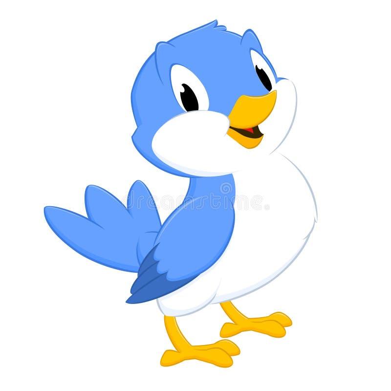 Kreskówka ptak royalty ilustracja