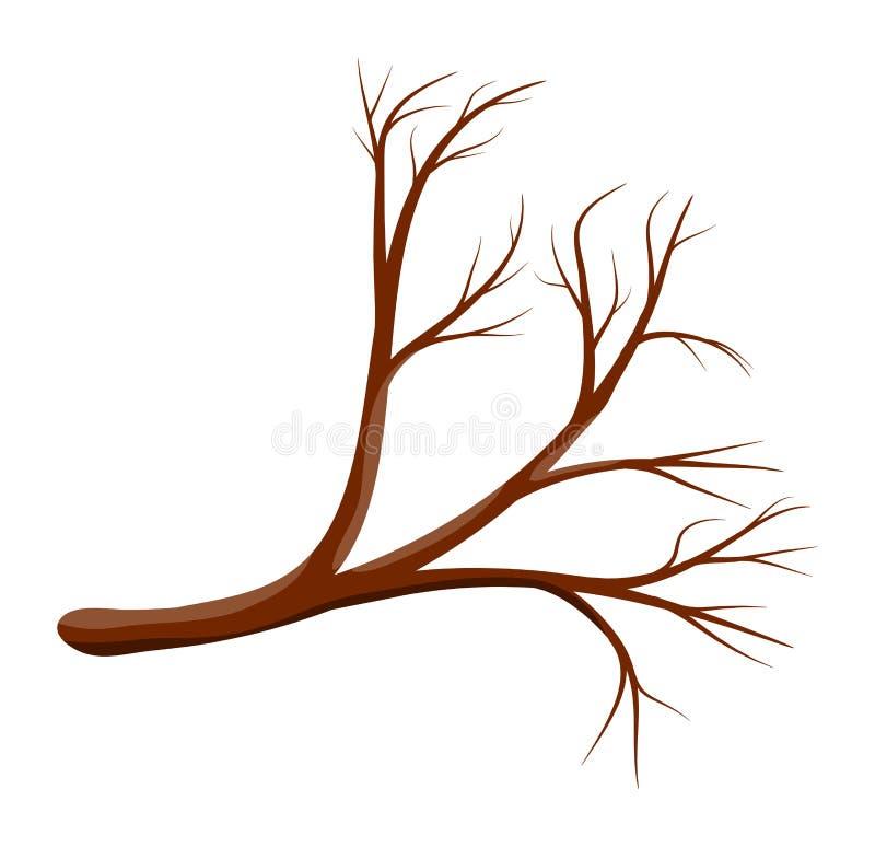 Kreskówka symbolu ikony gałęziasty wektorowy projekt ilustracja wektor