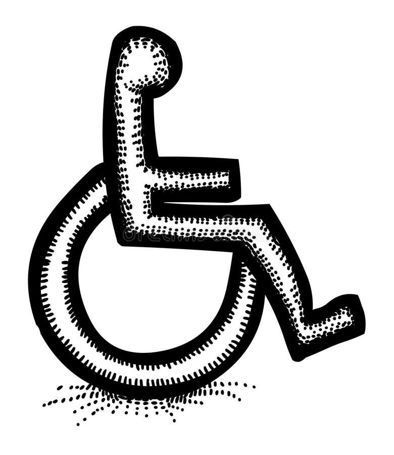 Kreskówka wizerunek for ikona Dostępność symbol ilustracji