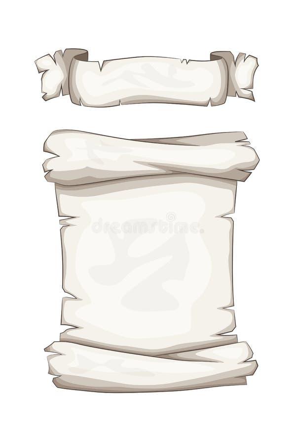 Kreskówki ślimacznica I sztandar ilustracja wektor