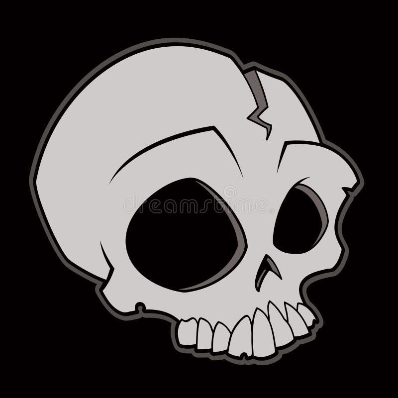 kreskówki czaszka