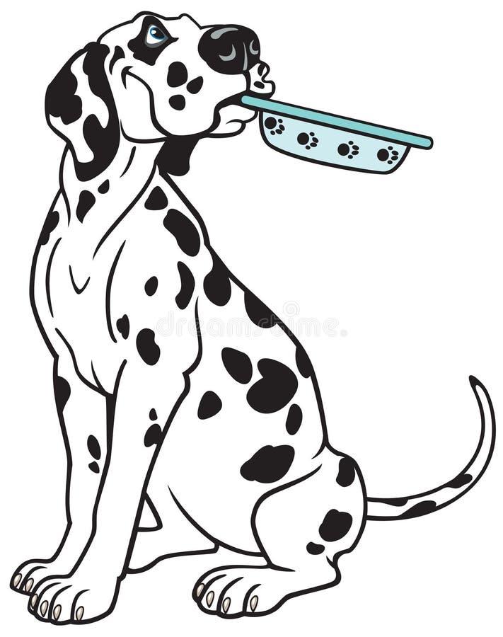 Kreskówki dalmatian royalty ilustracja