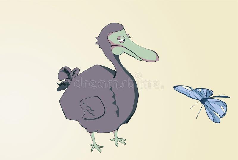 kreskówki dodo ilustracji