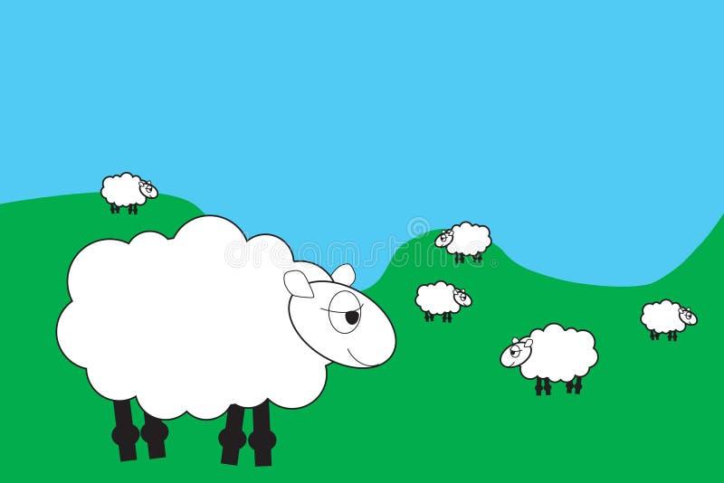 kreskówki farmę zwierząt ilustracja wektor