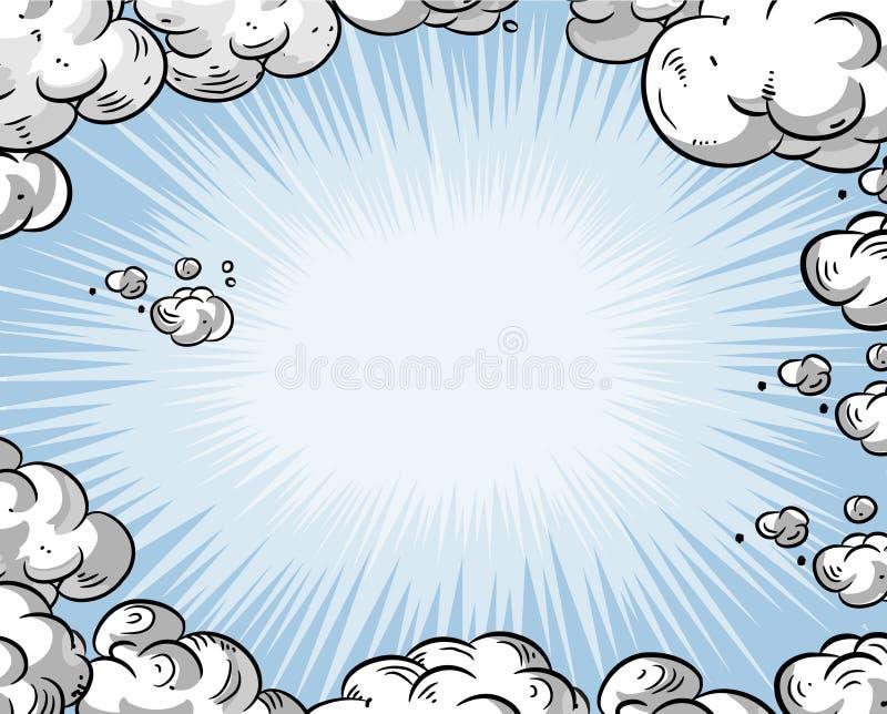 kreskówki niebo obrazy royalty free