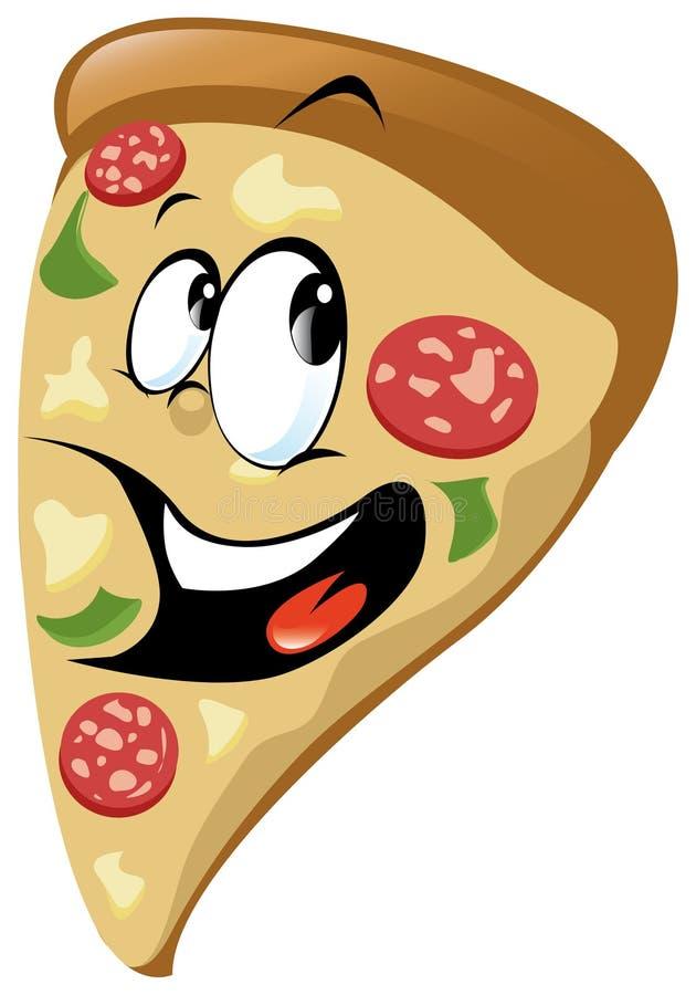 kreskówki pizza ilustracji