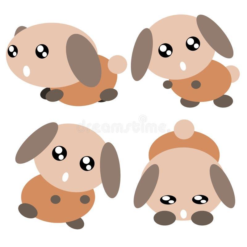Download Kreskówki psia ilustracja ilustracja wektor. Ilustracja złożonej z arte - 28972690