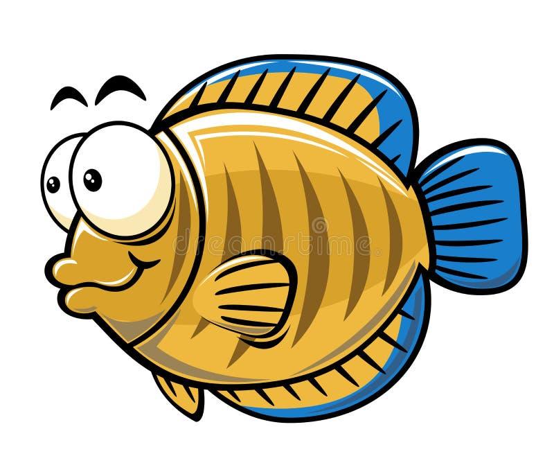 kreskówki ryba royalty ilustracja