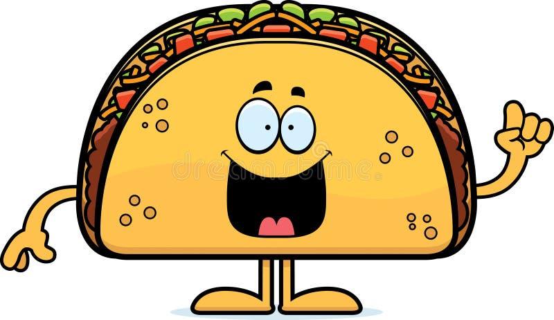 Kreskówki Taco pomysł ilustracji
