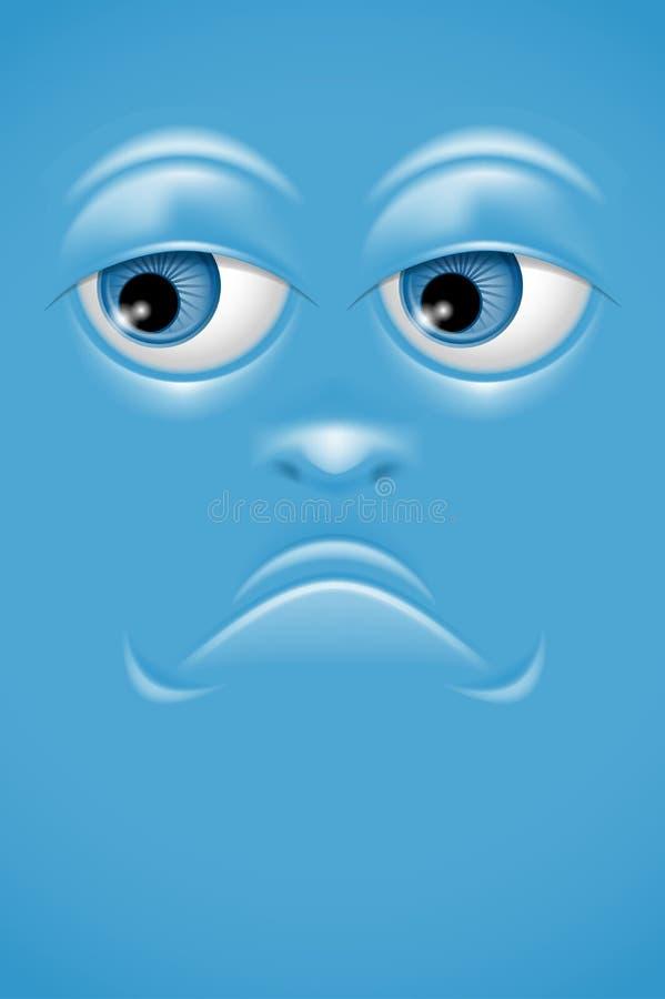 Kreskówki twarz ilustracja wektor