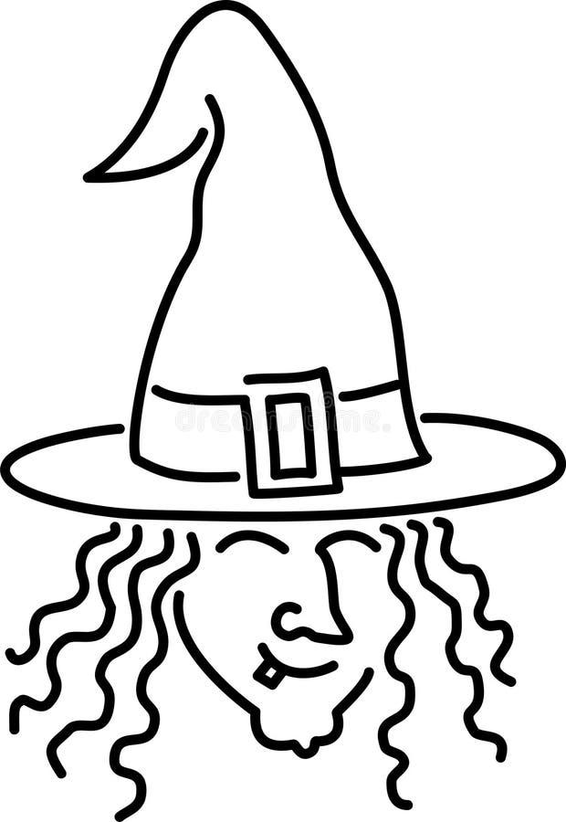 kreskówki wiedźma ilustracji