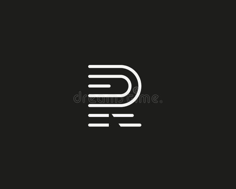 Kreskowy listu f logotyp Abstrakcjonistyczny poruszający powiewny logo ikony projekt, przygotowywający symbolu odcisku palca wekt ilustracja wektor