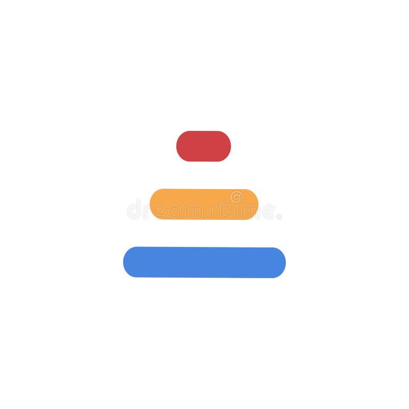Kreskowy listu A logotyp Abstrakcjonistyczny poruszający powiewny logo ikony projekt, gotowego symbolu wektoru kreatywnie znak ilustracji
