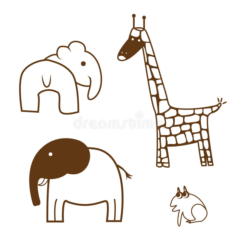 Download Kreskowy zwierzę ilustracja wektor. Ilustracja złożonej z odosobniony - 28974933