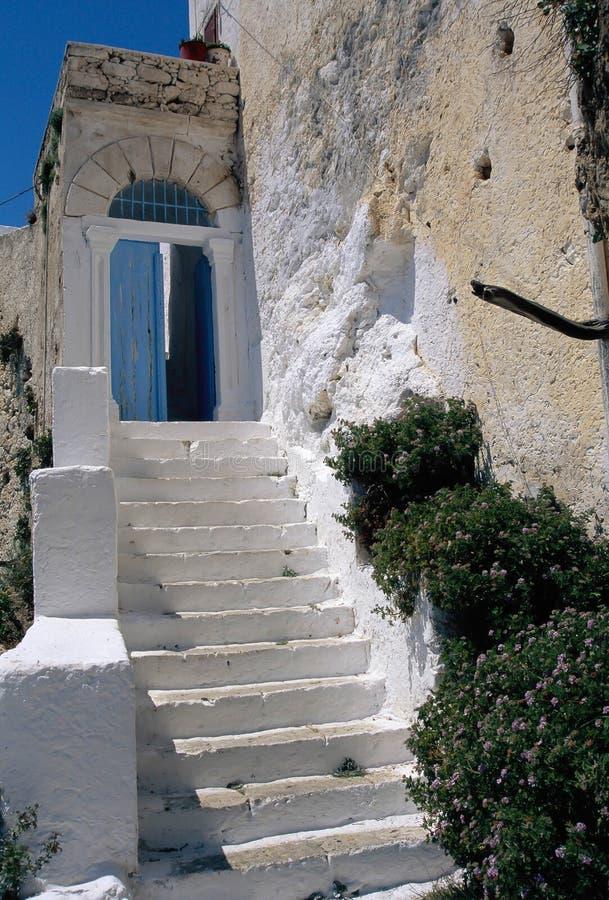 Kreta, Chrisoskalitissa-Klooster royalty-vrije stock afbeeldingen