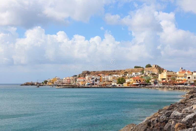 Kreta - Paleochora stock foto