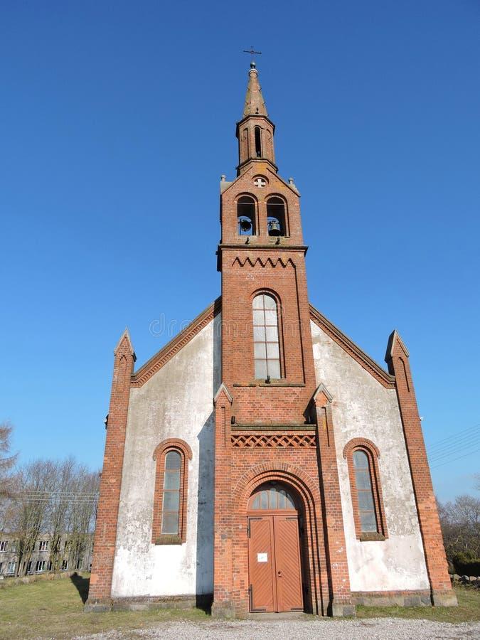 Kretingales kościół, Lithuania fotografia stock