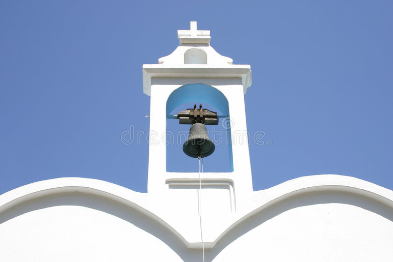Download Krety wieży bell zdjęcie stock. Obraz złożonej z nieba - 141082