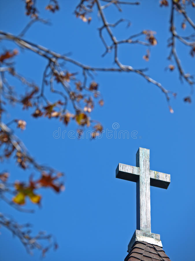 Kreuz stockfoto