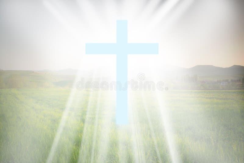 Kreuz der Leuchte lizenzfreie stockfotos