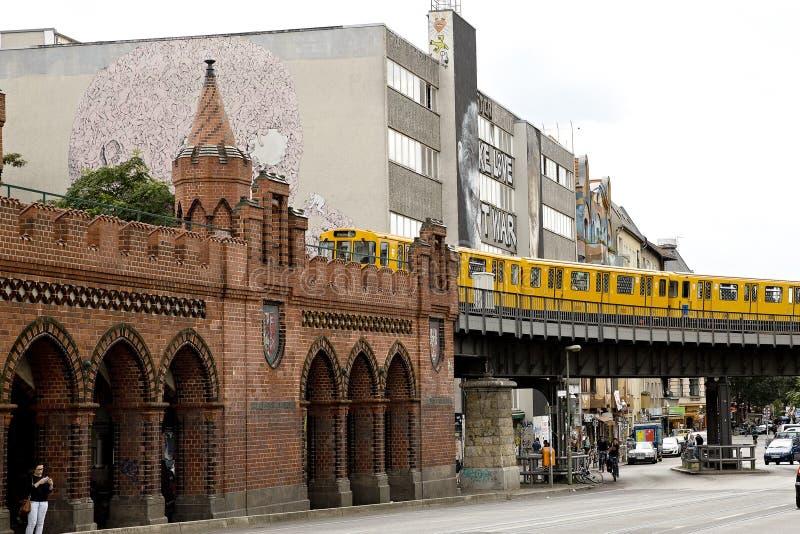 Kreuzberg Berlin royaltyfri foto