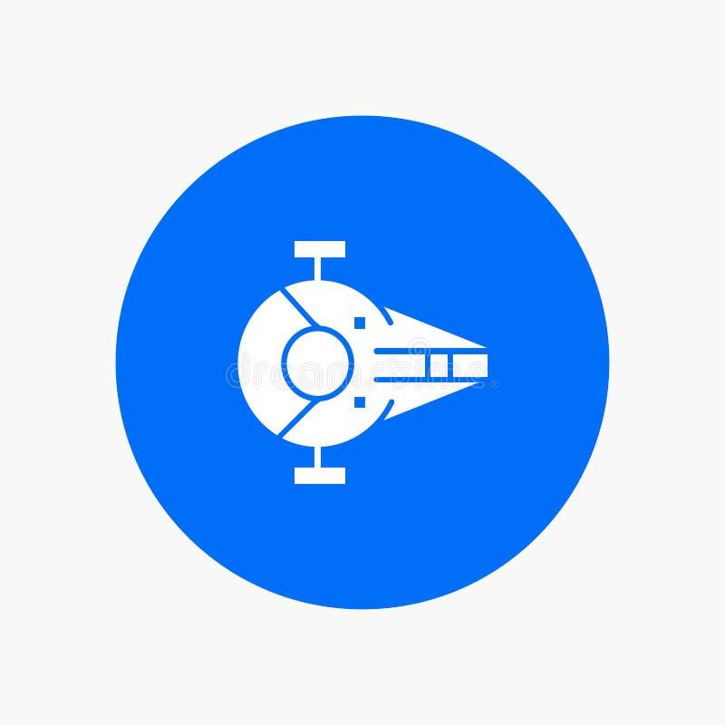 Kreuzer, Kämpfer, Auffänger, Schiff, Raumfahrzeug lizenzfreie abbildung