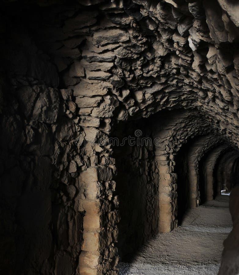 Kreuzfahrer-Schloss Al Karaks /Kerak, Jordanien lizenzfreie stockfotos