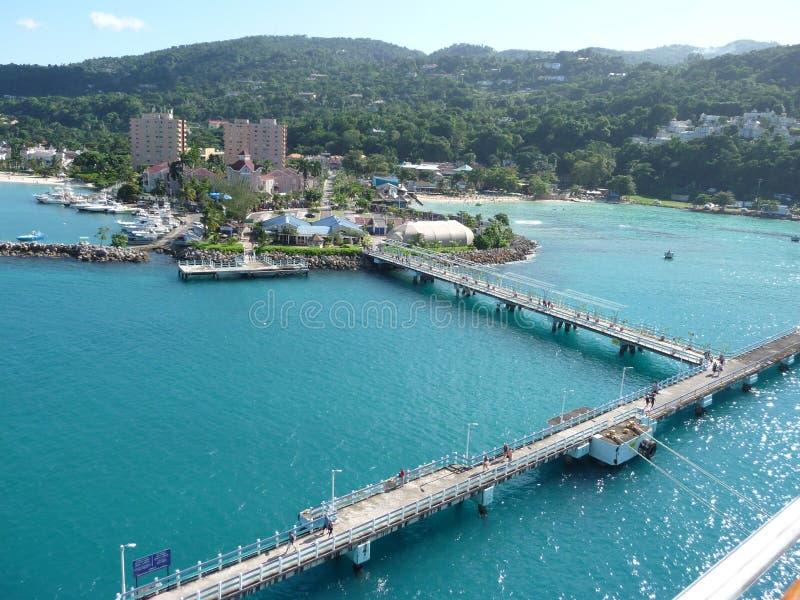 "Kreuzfahrt Terminal-†""Jamaika Ocho Rios lizenzfreie stockfotos"