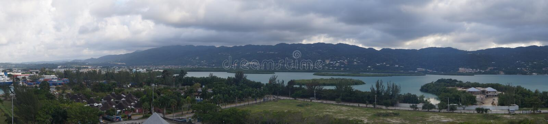 Kreuzfahrt Terminal-Montegobay - Jamaika stockbild